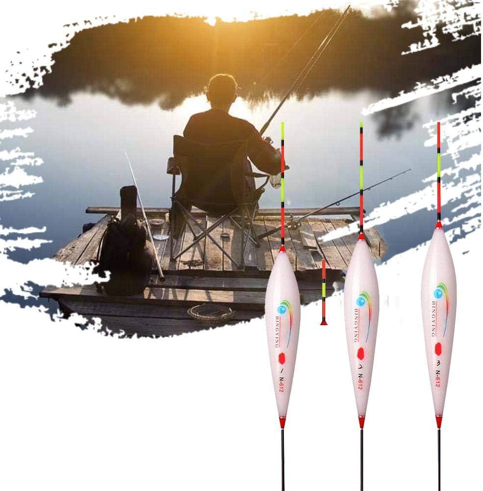 Smart Fishing Float Angeln Bissanzeiger Angelposen Zum Nachtangeln Improved Letway 12 ST/ÜCKE Posen Laufposen Angeln