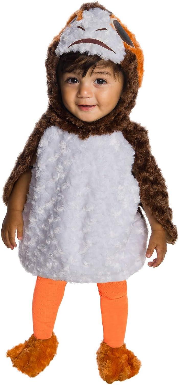 Rubies Kids Star Wars Episode VIII Last Jedi PORG Costume Baby Costume, Color As Shown, Infant