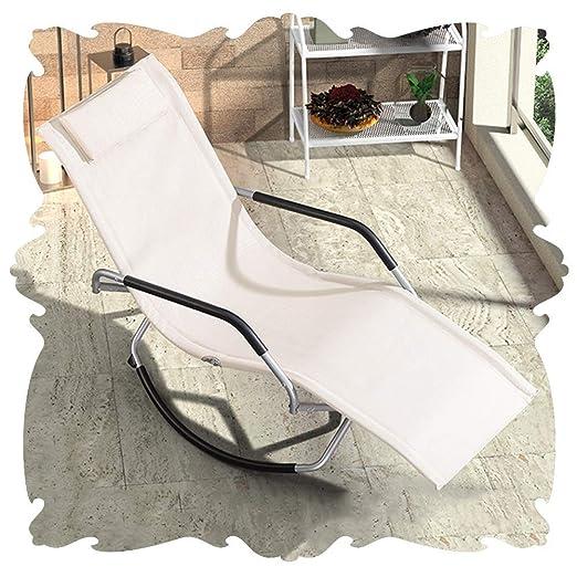 Q.AWOU Mecedora Garden Relax Furniture Sillón doméstico ...