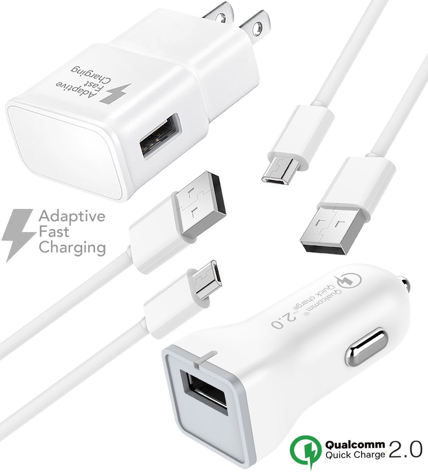 Amazon com: BlackBerry Priv Charger Micro USB 2 0 Cable Kit