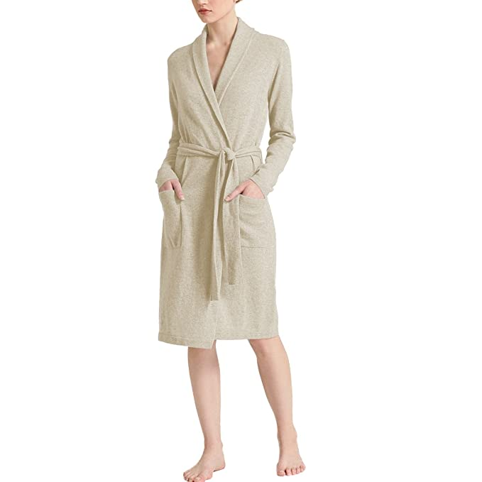 Cashmere Shawl Collar Robes