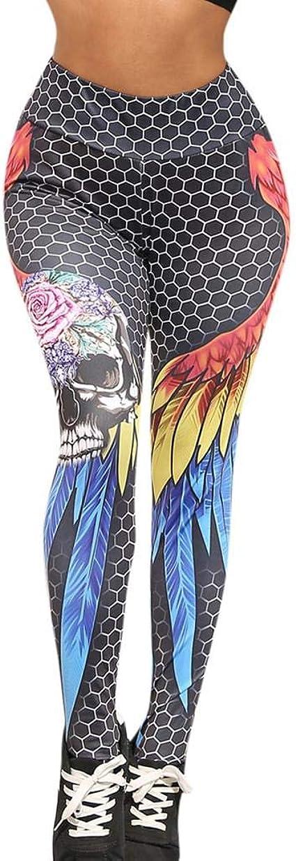 SHOBDW Pantalones Mujer Color Cintura Alta Estiramiento ...