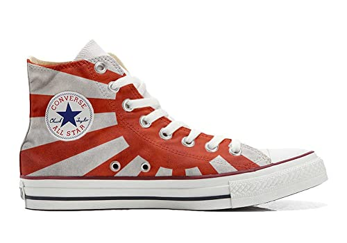 Converse Original CUSTOMIZED with printed Italian style (handmade shoes) with japan flag