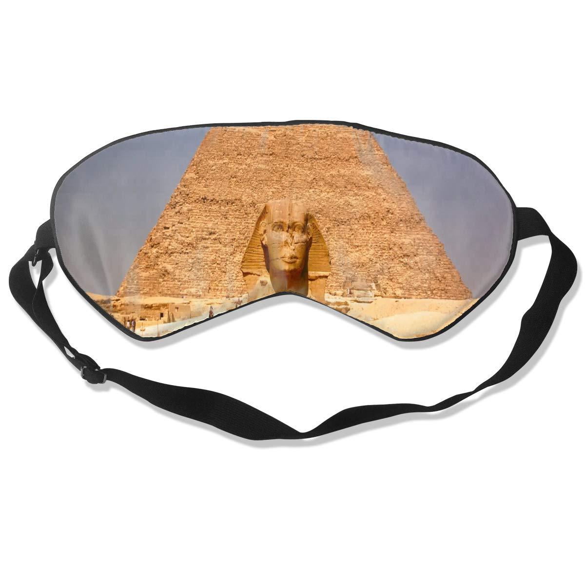 All agree Sleep Mask Eiffel Tower Pink Eye Mask Cover with Adjustable Strap Eyeshade for Travel, Nap, Meditation, Blindfold
