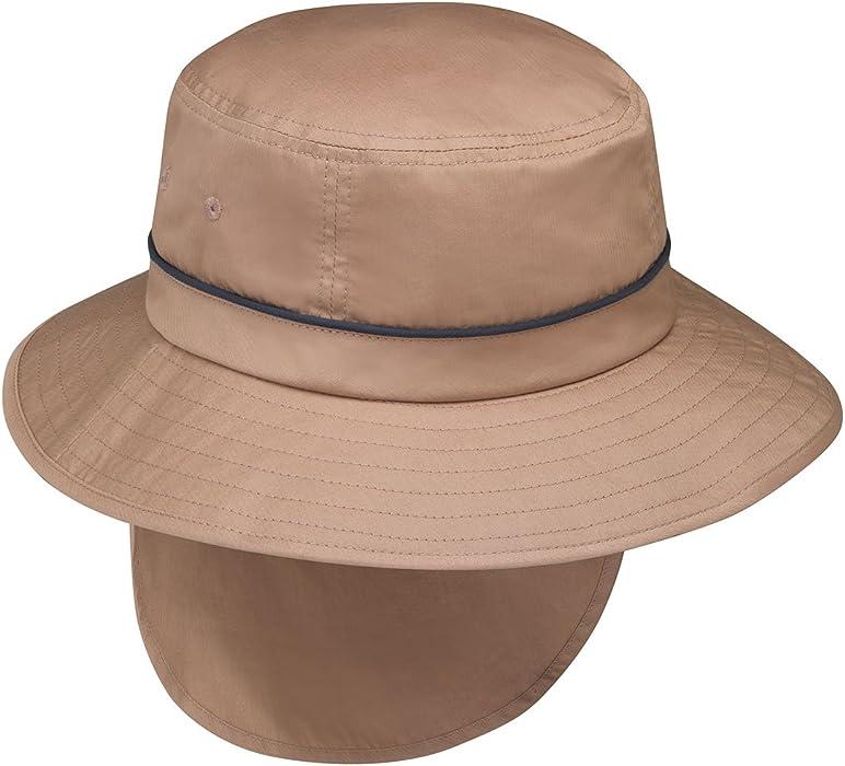 Amazon.com  Wallaroo Hat Company Men s Shelton Sun Hat - UPF50+ ... a0b4e7d9832