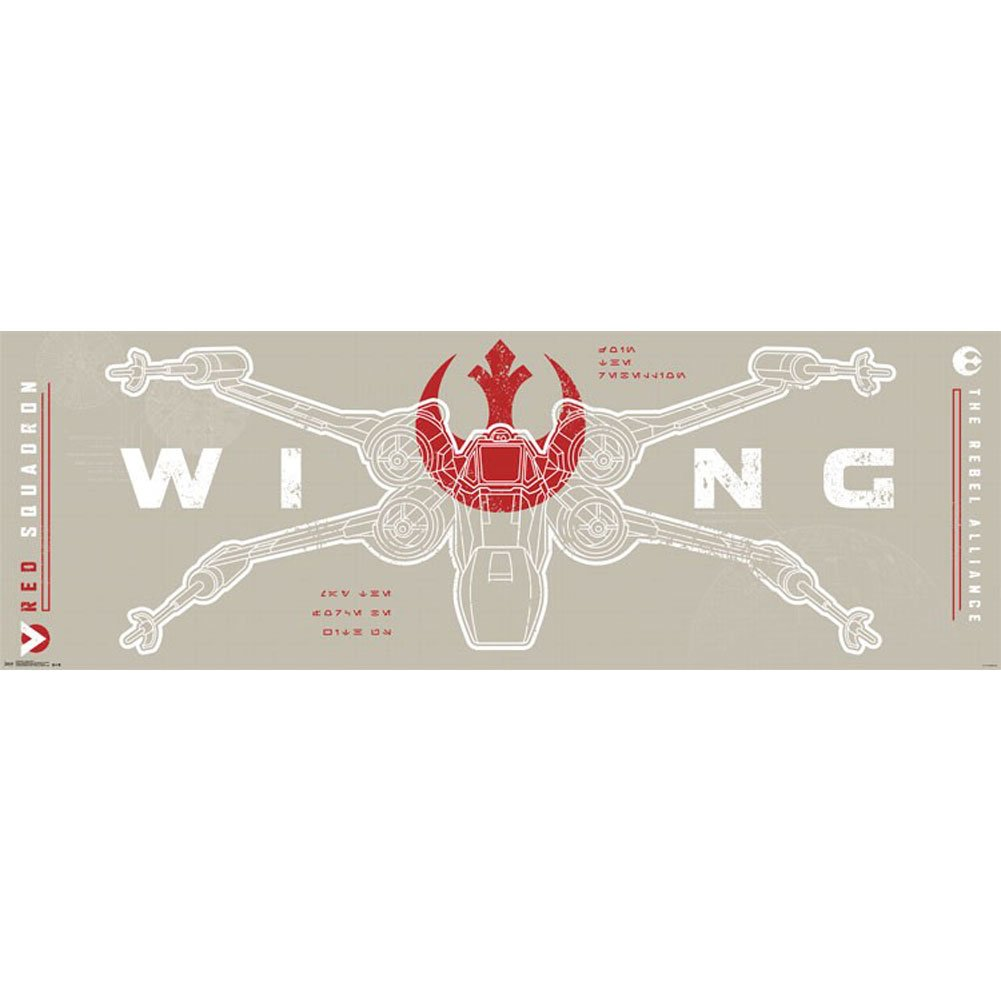 Star Wars Rogue One X Wing Movie Door Poster 62x21: Amazon.ca: Home ...