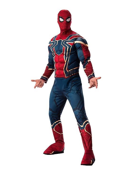Amazon.com: Rubies - Disfraz de araña de hierro para hombre ...