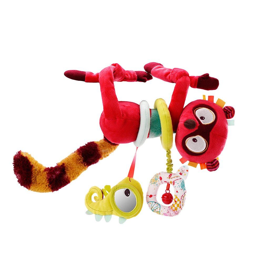 Lilliputiens ''George Activity Lemur Plush Toy (Multi-Color)