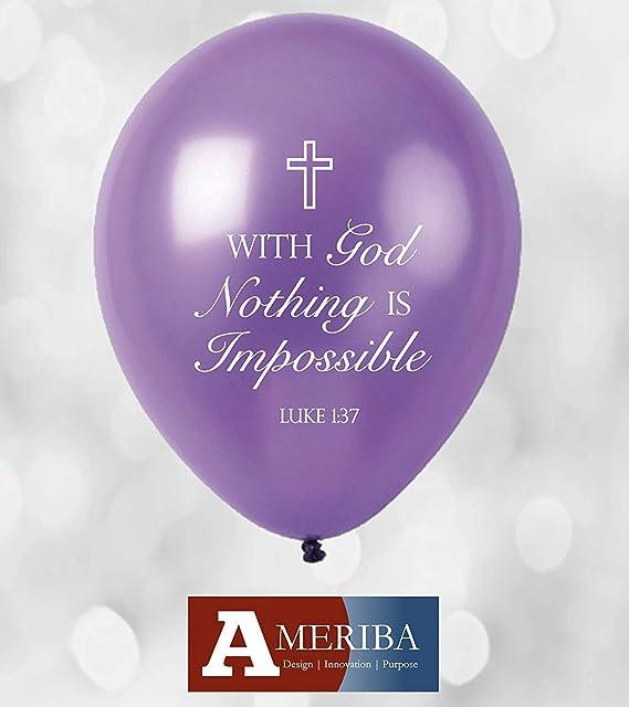 Globos de celebración cristiana con bautismo, globos de Santa ...