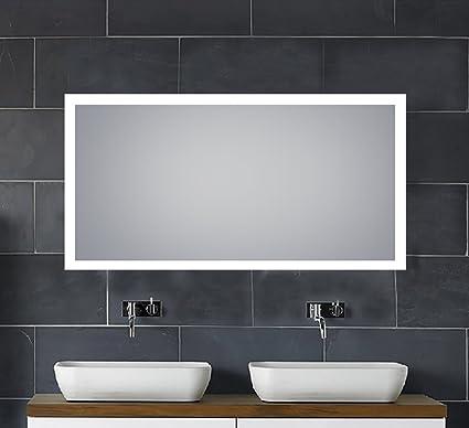 30 x 60 mirror full body alexandria 30quotx 60quot led backlit illuminated mirror horizontalvertical for bathroom vanity 30