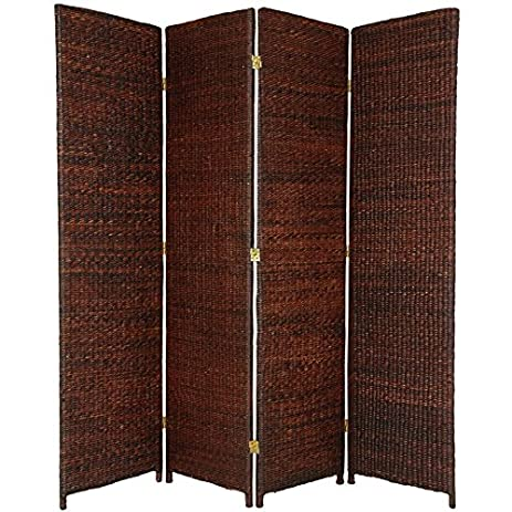Amazoncom Oriental Furniture Solid Substantial Opaque Screen 6