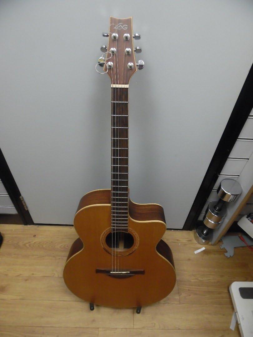 Lag gla300jce Jumbo – Guitarra electroacústica Cutaway – Otoño ...