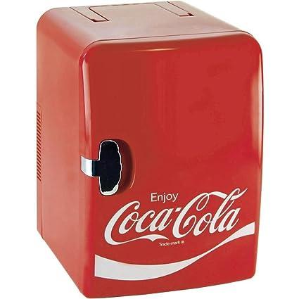 Coca-Cola MF23 Nevera eléctrica pequeña 12/230V, EEI: Amazon.es ...