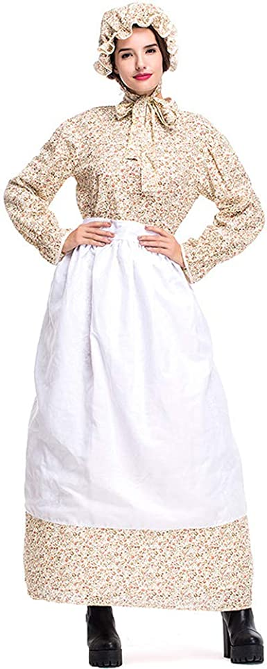 Criada del Disfraces Conjunto Mujer Vestido de Estilo Pastoral ...
