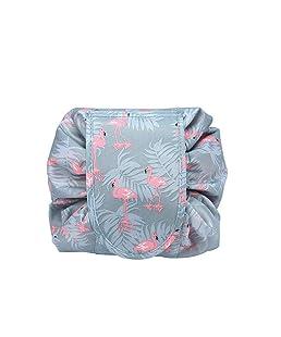 Switty bolsa de cosméticos de maquillaje Naisidier Neceser con gran capacidad para el aire libre Treavel, Mujeres de viaje portátil a prueba de agua Quick Pack bolsa (azul)