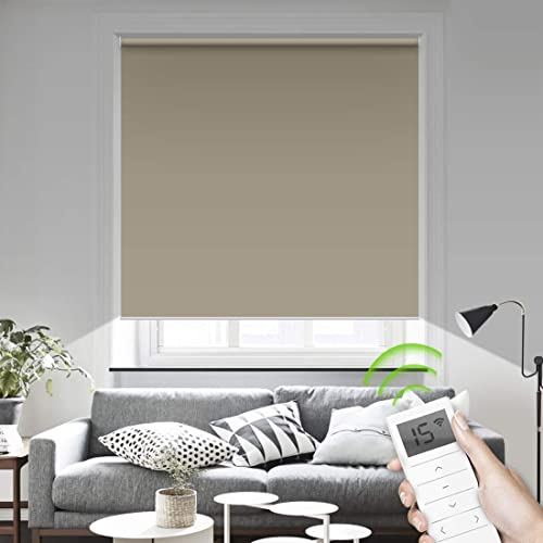 Compatible w/Google Home, Alexa, Smartphones (iOS, Android Devices) Cordless Blackout Shade review