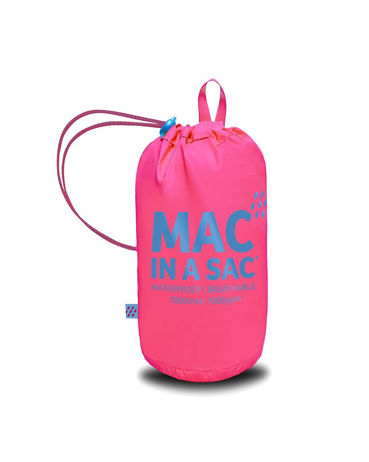 Mac In Mac A Packable Sac chamarra de Rosado neón Packable ...