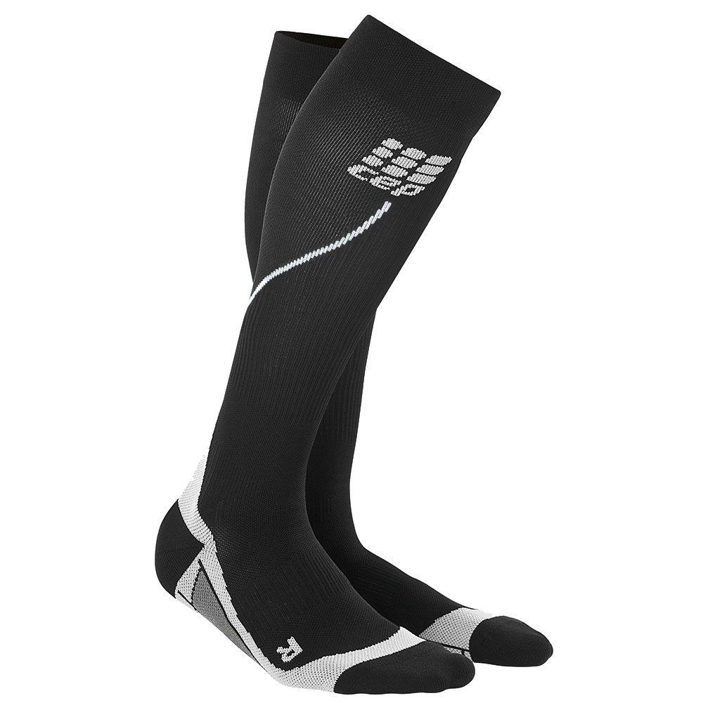 CEP Strumpf Progressive+ Run Socks 2.1 - Calcetines para hombre, color negro, talla DE: III WP453