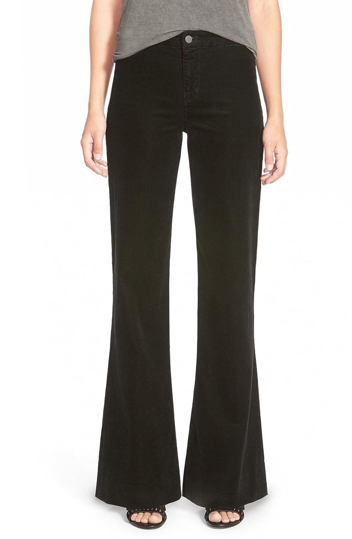 J Brand Women's 28X34 Corduroys Solid Flare-Leg Pants