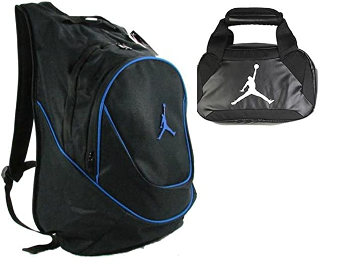 abbbbe97ce225d Nike Air Jordan Jumpman Backpack   Insulated Trainer Lunch Tote Bag Set +  Free Cell Phone