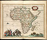 Historic Map | 1660 Nova Africa | Antique Vintage Reproduction