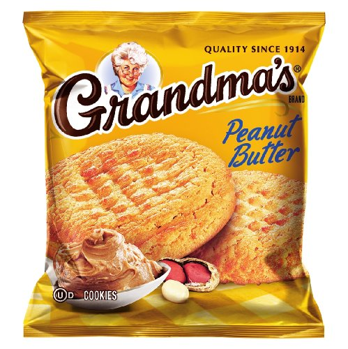 - Grandma's Peanut Butter Cookies, 2.5 Ounce (Pack of 60)