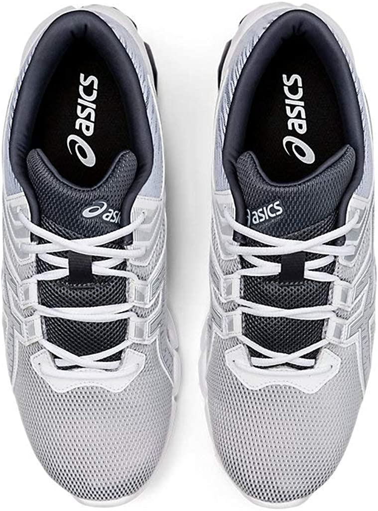 Asics Gel-Quantum 90 2 - Zapatos para hombre, Blanco (Blanco/Gris Piamonte), 46 EU: Amazon.es: Zapatos y complementos