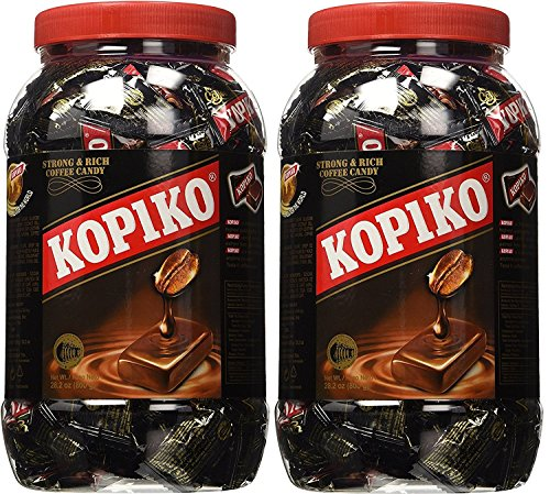 Kopiko Coffee Candy in Jar 800g/28.2oz (Pack of - Candies Coffee