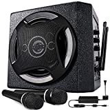 TONOR PA System Karaoke Machine with Bluetooth Powered Speaker Wireless Microphones Handheld for Family Party, Indoor Meeting, Classroom Use, Public Speaking and Small Stage Performance