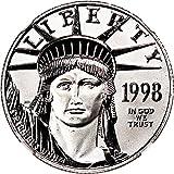 1998 P 50 Platinum Eagles Platinum Eagle Fifty Dollar MS69 NGC
