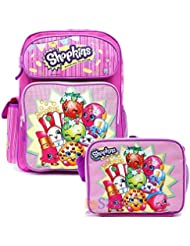 Shopkins School Backpack Set 16 Large Backpack with Lunch Bag