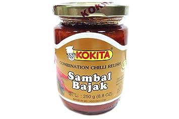 Kokita Sambal Bajak, Mild, 8.8 Ounce