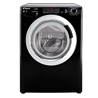 Candy Gvsw496dcab 80 9kg6kg 1400 Spin Washer Dryer In Black Amazon