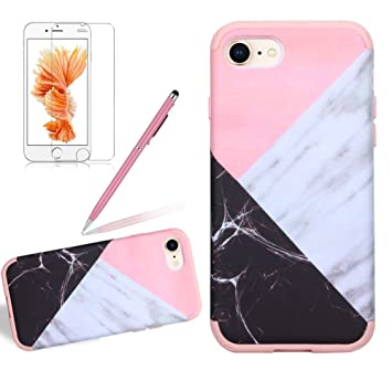 coque silicone marbre iphone 8 plus