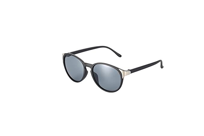 TerriAk Men's Retro Round Sunglasses
