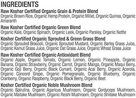 Juvo Raw Green Superfood, 329 ml: Amazon.com: Grocery ...