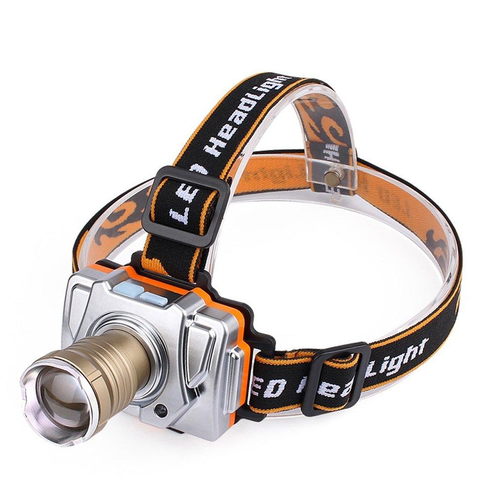 Fly LED-Lichtsensor Scheinwerfer Outdoor-Angeln Wiederaufladbare Super Helle Outdoor-Angeln Scheinwerfer Lichterjagd Taschenlampe b4d070