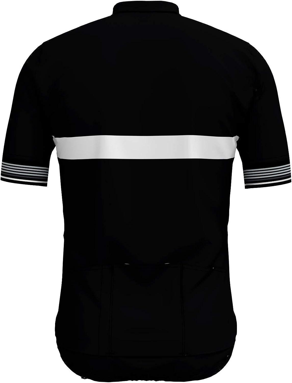 Camiseta Hombre Odlo Stand-up Collar S//S Full Zip Fujin Ceram