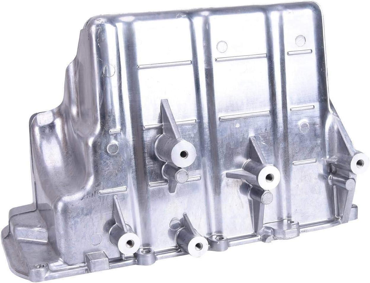 Winison Aluminum Engine Oil Pan for Smart Fortwo 2008-2015 1320100013