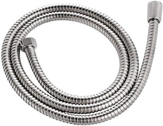 Sylvialuca 1.6 Metros de fontaner/ía Tubo de Ducha Flexible Tubo de ba/ño de Acero Inoxidable con Resistencia a Altas temperaturas