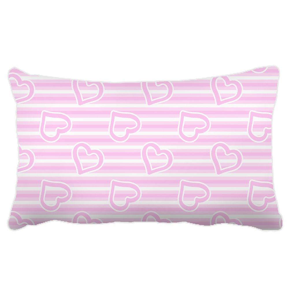 yohoba lona de algodón rectangular funda de almohada patrón ...