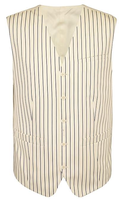 Pinstripe Suit Vest $90.85 AT vintagedancer.com