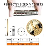 60PCS Refrigerator Magnets - Round Crafts Magnets