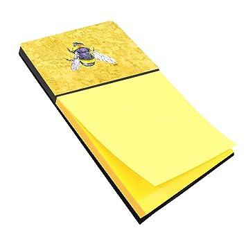 Abeja en amarillo Refiillable titular o de notas adhesivas Postit Nota dispensador 8852SN