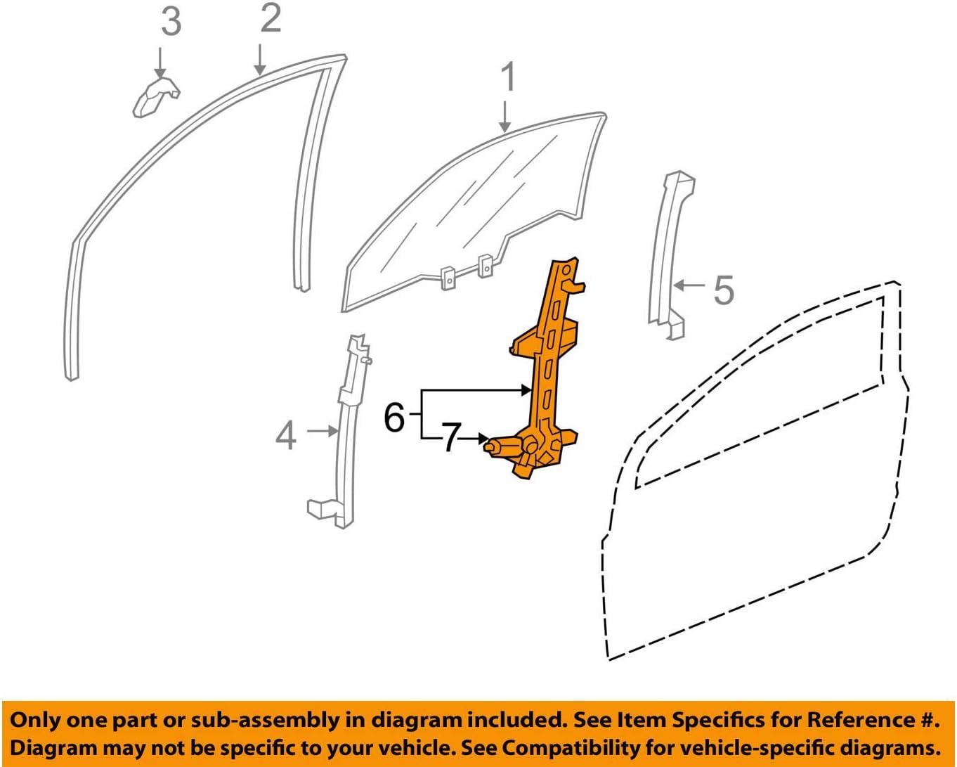TrakMotive 21-1706 Window Regulator