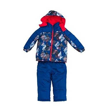 5dfffd370948 Amazon.com  iXtreme Boys  Snowsuit  2-Piece Camo Print Snowsuit For ...