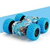 YunZyun Inertia Double Side Stunt Graffiti Car Off Road Model Car Vehicle Kids Toy Gift - Pull Back Cars Friction…