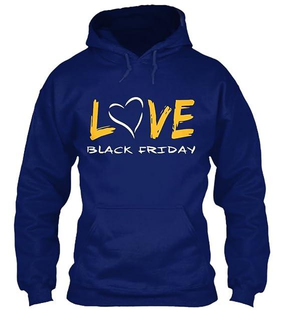 Sudadera con Capucha Teespring para Hombre - S - LOVE BLACK FRIDAY