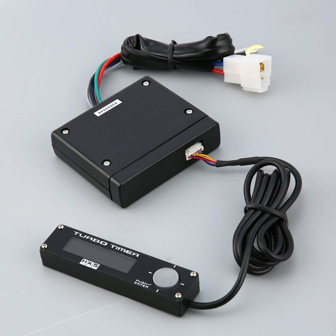 Footprintse Ruedas Coche DC 12V Universal Digital Car Turbo Timer Pantalla LED Boost Timer Controller-Color: Negro: Amazon.es: Coche y moto