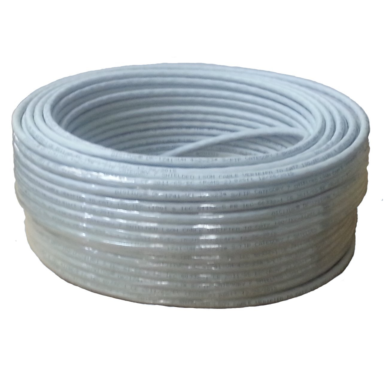 Amazon.com: Sunnytech 500ft CAT7 S-FTP Bulk Cable, AWG 23/1, Solid ...